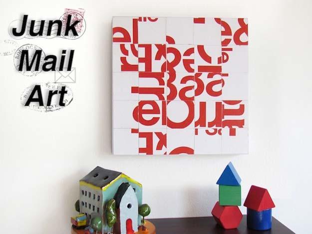 DIY junk art