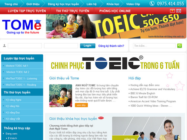 Dịch Vụ Thiết Kế Website Giáo Dục Quận 7