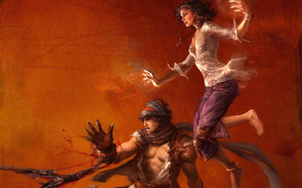 Prince of Persia Game Widescreen HD Wallpaper