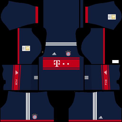 meet 94c59 57285 Kits/Uniformes para FTS 15 y Dream League Soccer: Kits ...