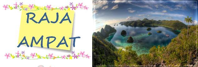 A Little Girl English Descriptive Text About Raja Ampat