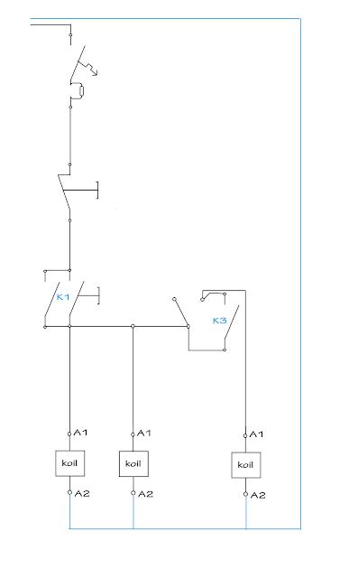 Sistem Kontrol Elektro Motor 3 phasa star Delta Otomatis
