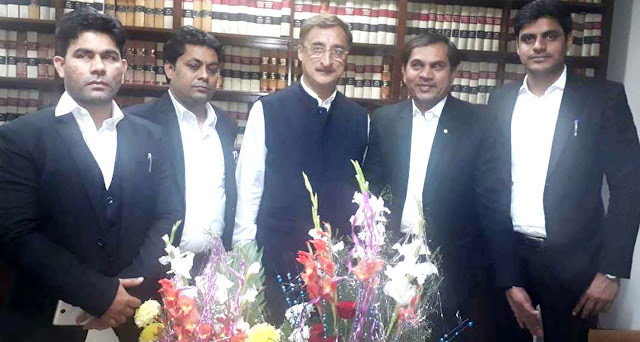 National President Vivek Tankha expressed his gratitude on the appointment