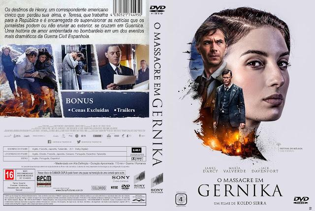 Capa DVD O Massacre Em Gernika