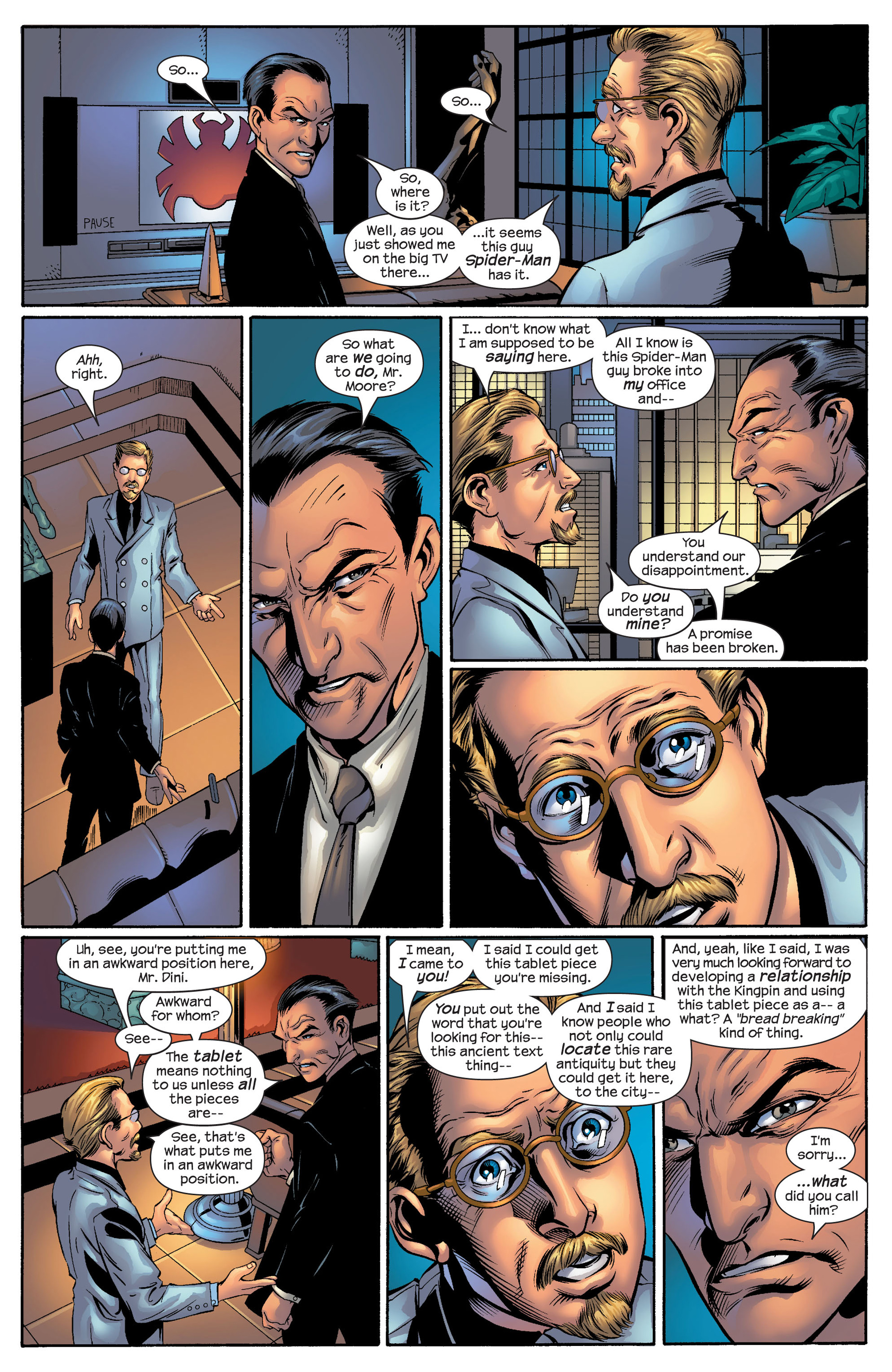 Read online Ultimate Spider-Man (2000) comic -  Issue #51 - 4