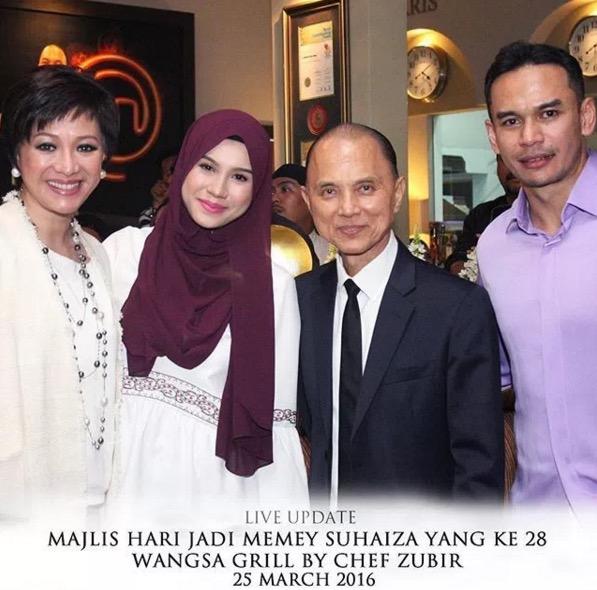 Sekitar Majlis Sambutan Hari Jadi Memey Suhaiza, Isteri Norman Hakim
