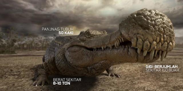 Sarcosuchus merupakan jenis buaya terbesar