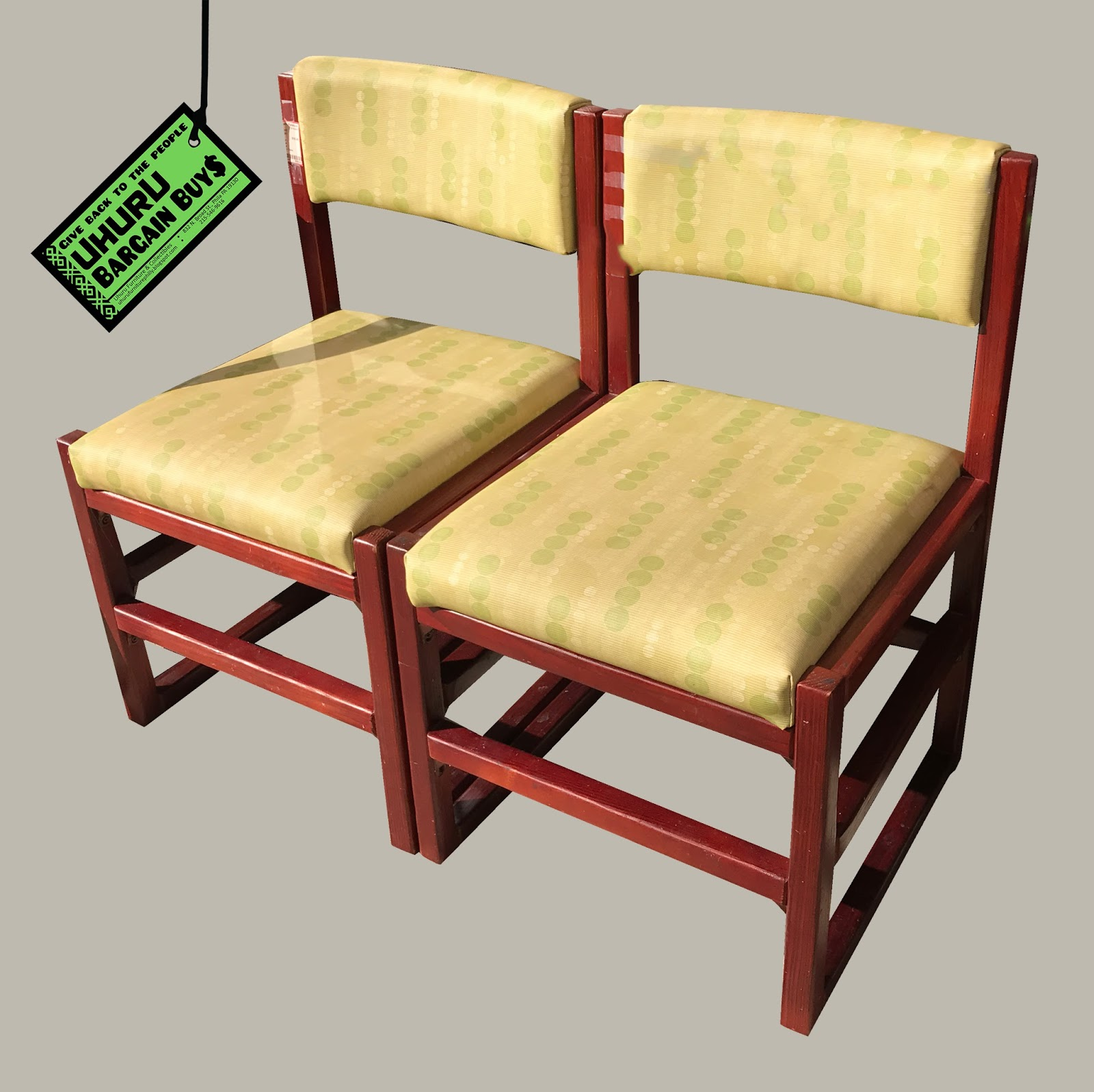 Superb Uhuru Furniture Collectibles Bargain Buy Pair Of Chairs Download Free Architecture Designs Crovemadebymaigaardcom