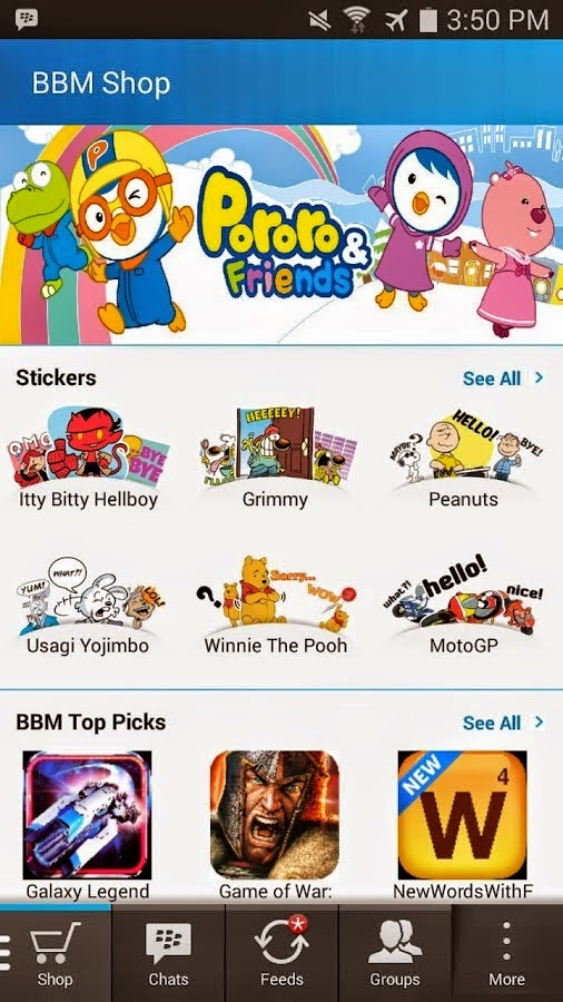 Preview BBM MOD | Andromin