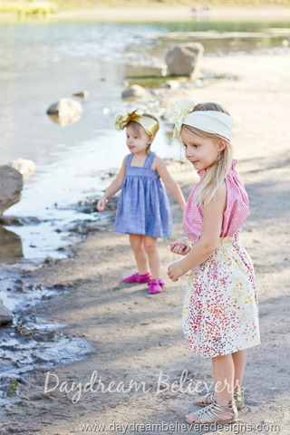 Classic 1960s style clothing for girls by Daydream Believers Designs