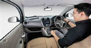 Tampilan interior datsun go spesial version