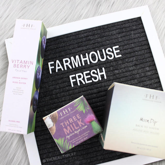 Farmhouse Fresh Ageless Skincare  |  The Beauty Puff