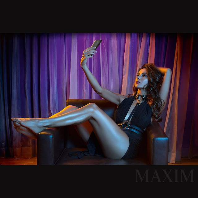 Shibani Dandekar Maxim India April 2017 Hot Stills