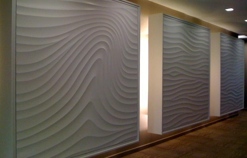 Different wall finishes for the interior design of your ...