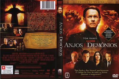 Filme Anjos e Demônios (Angels & Demons) DVD Capa