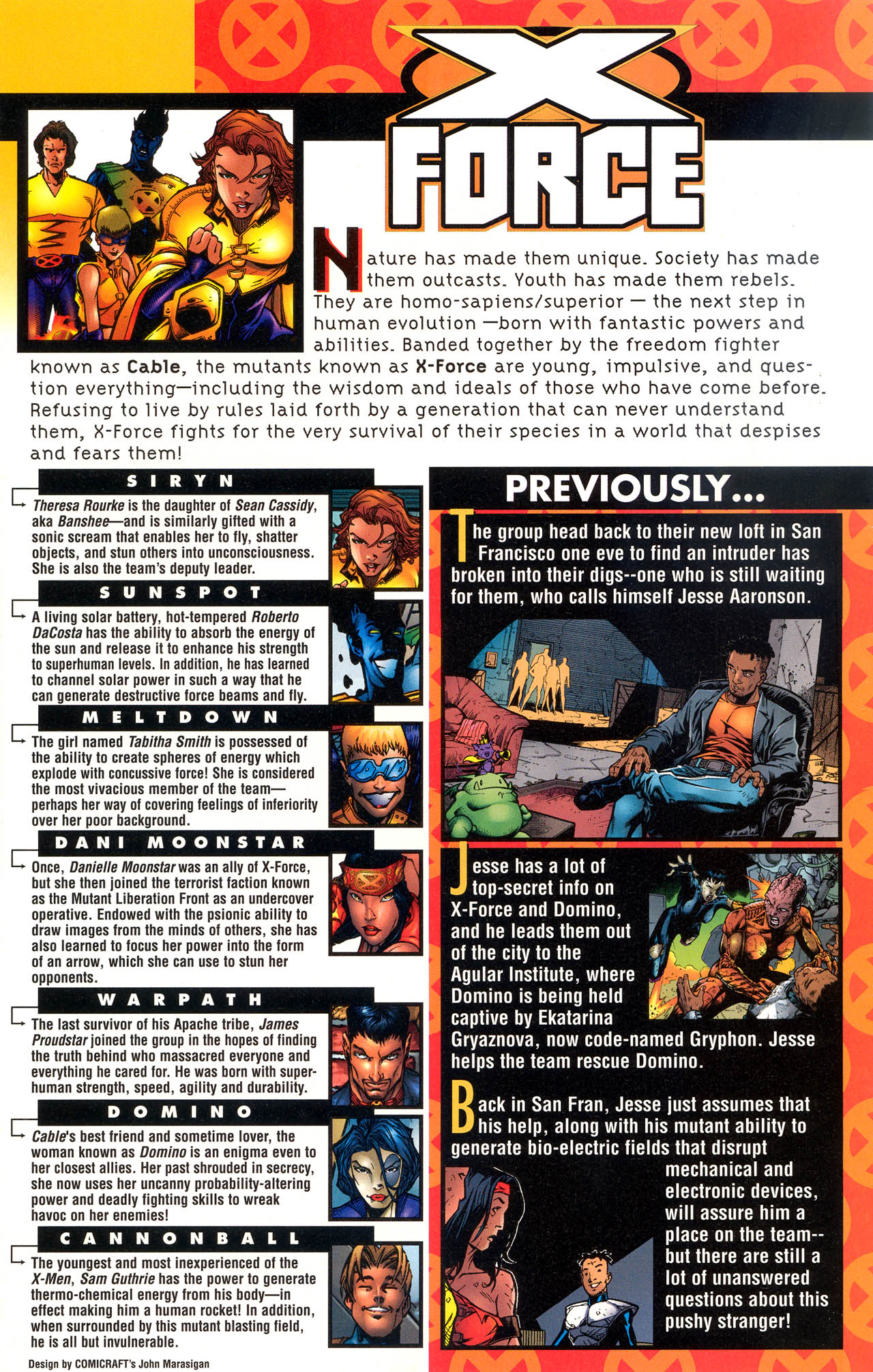 Read online X-Force (1991) comic -  Issue #83 - 2