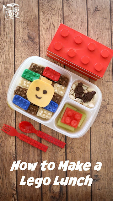 How to make a LEGO Minifigure lunch for your kids!
