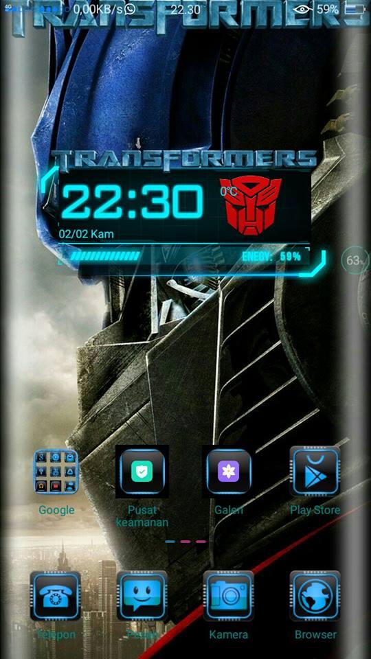Theme Transformer For Oppo A37