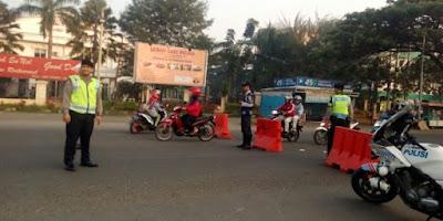 Keterangan Kasat Sabhara Polres: Inilah Penyebab Selalu Terjadi Kemacetan di Karawang