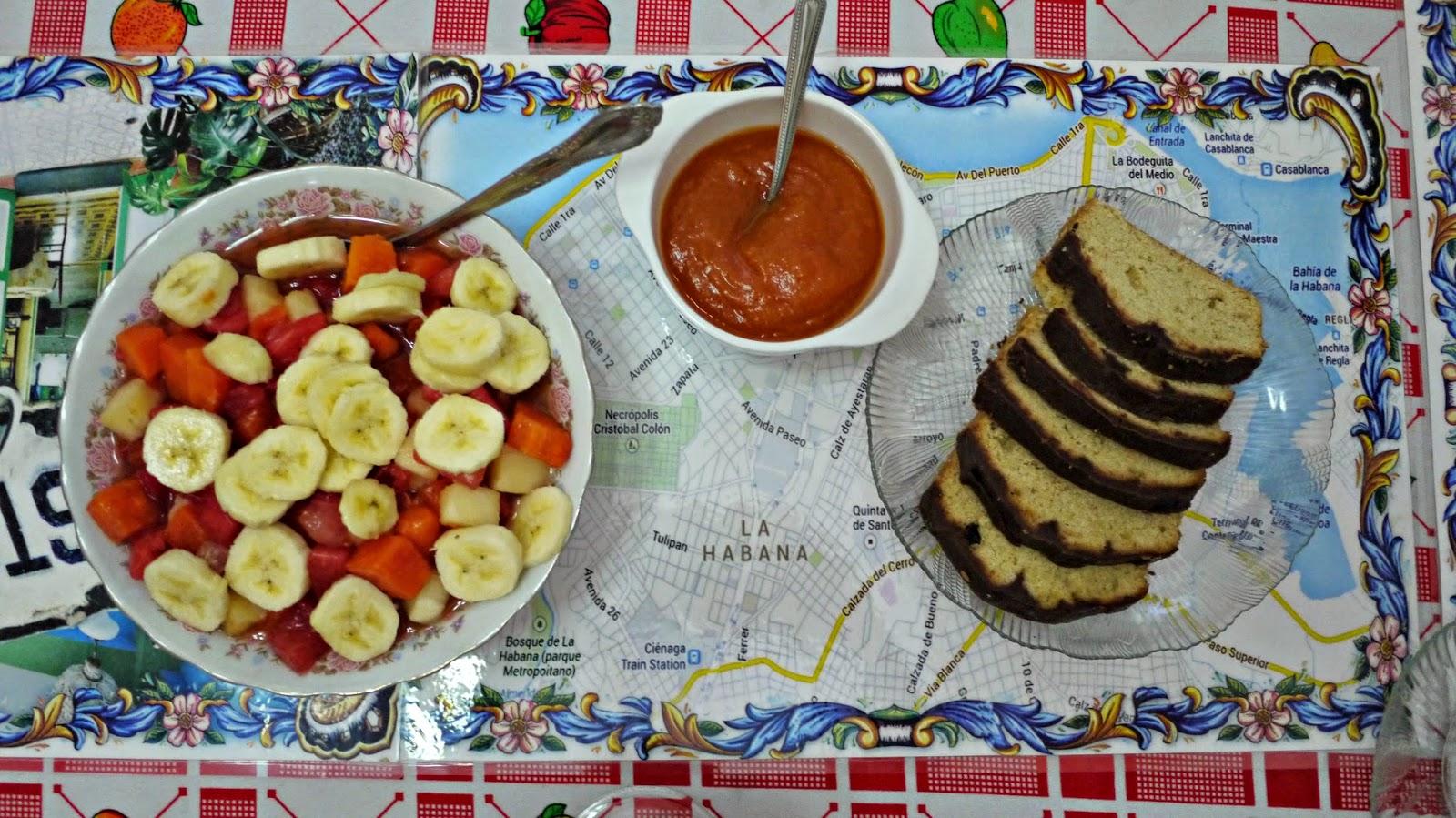 Casa cristo colonial breakfast cuba