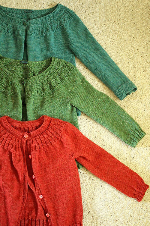 September Sweater - Free Knitting Pattern