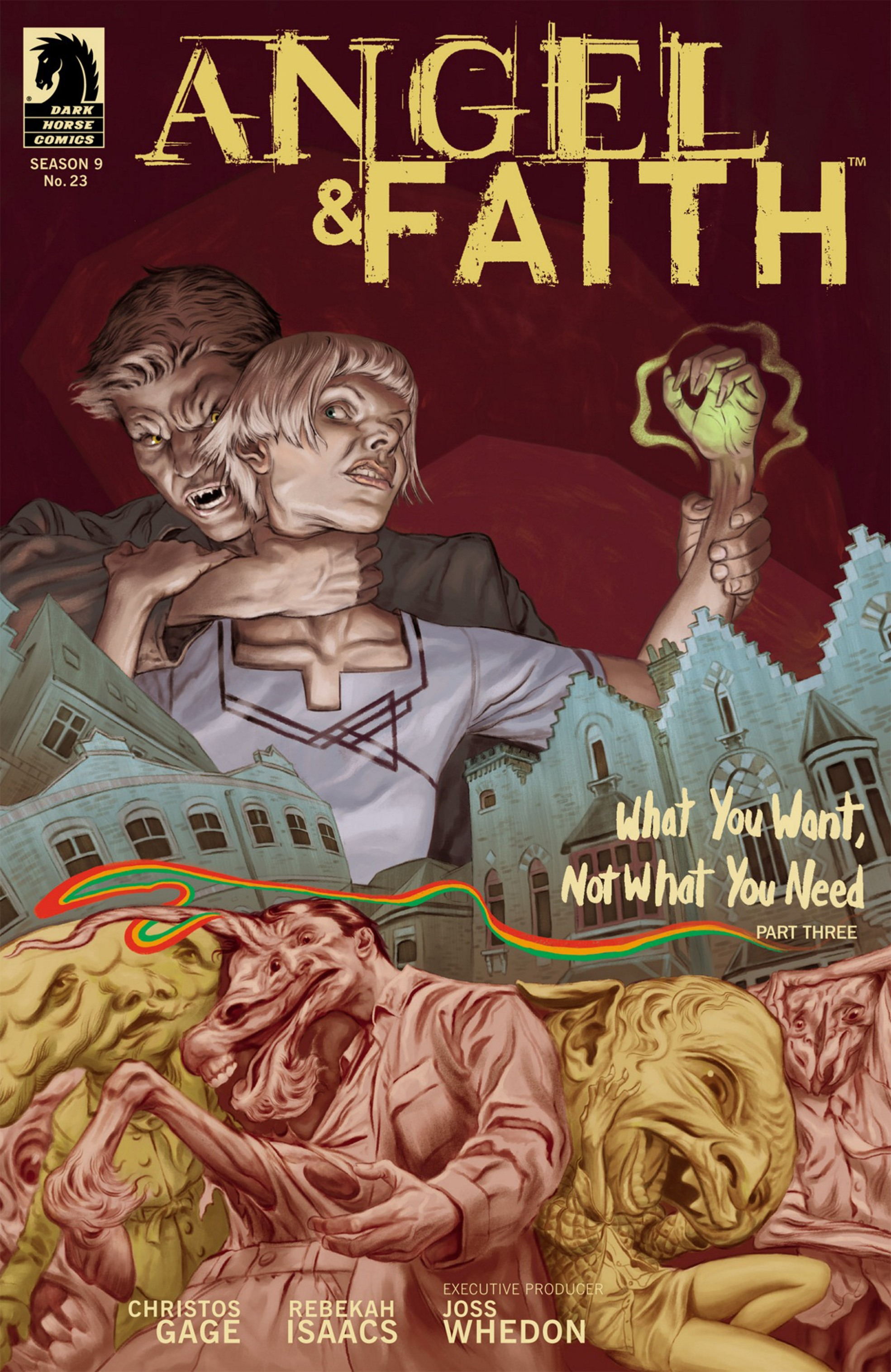 Read online Angel and Faith comic -  Issue #23 - 1