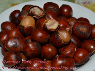 Castanas, Roasted Chestnuts