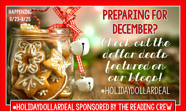 December will be here quickly...and we'd like to help. Special holiday dollar deals for TPT.
