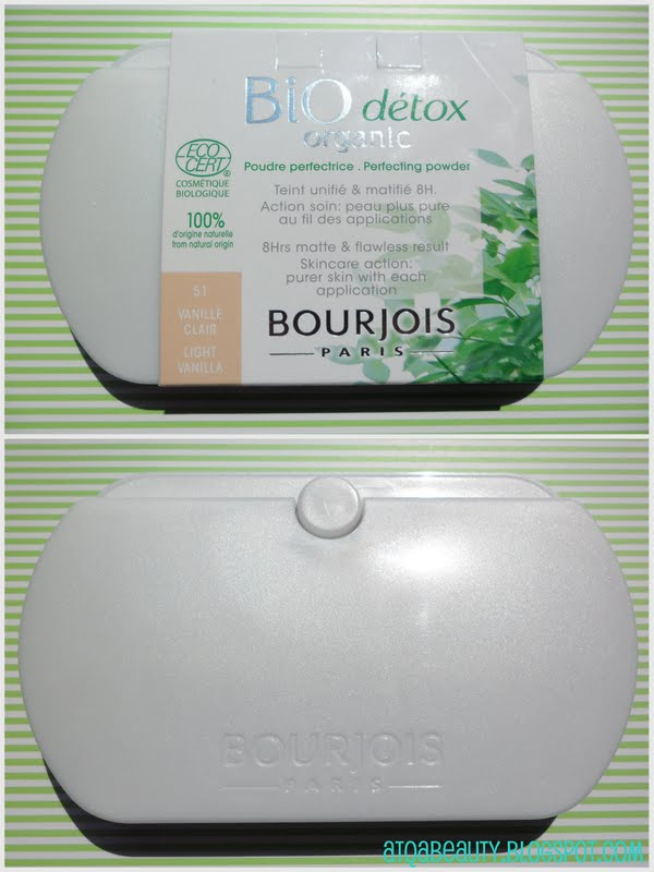 Makijaż :: Bourjois Bio Détox Organic Perfecting Powder