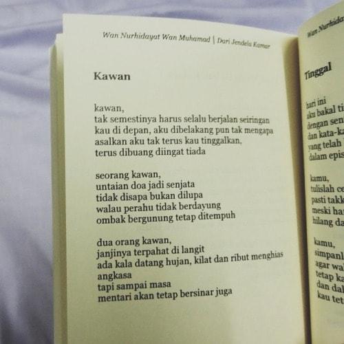 puisi #31 tidak disapa bukan dilupa