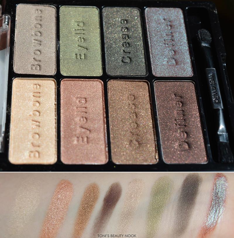 wet n wild comfort zone eyeshadow palette E738