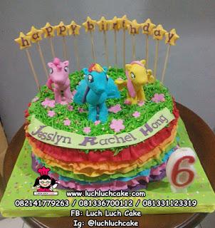 My Little Pony Cake Ulang Tahun