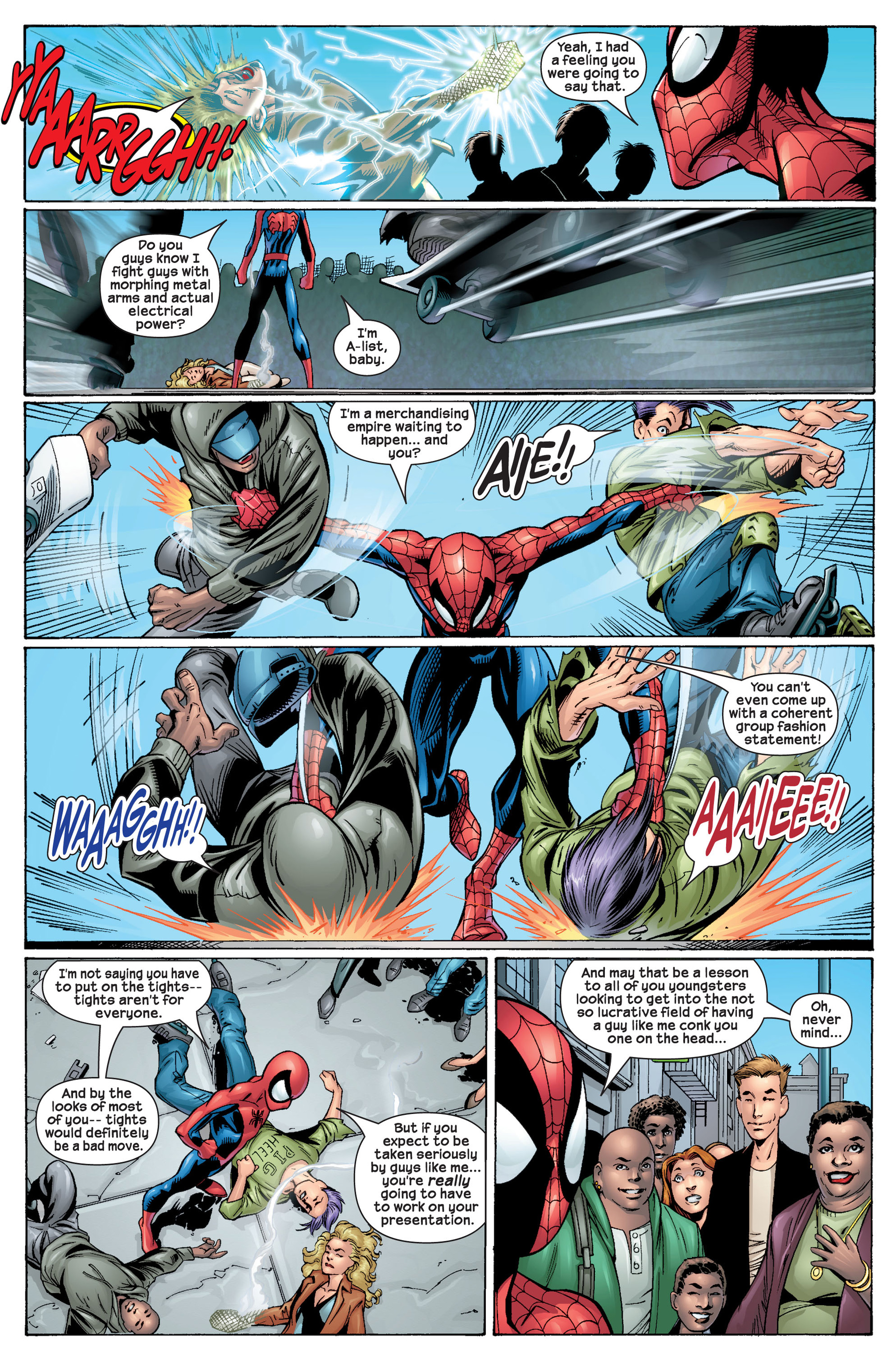 Read online Ultimate Spider-Man (2000) comic -  Issue #22 - 7
