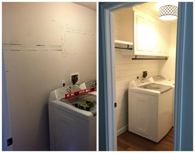 The Holland House: Laundry Room Makeover