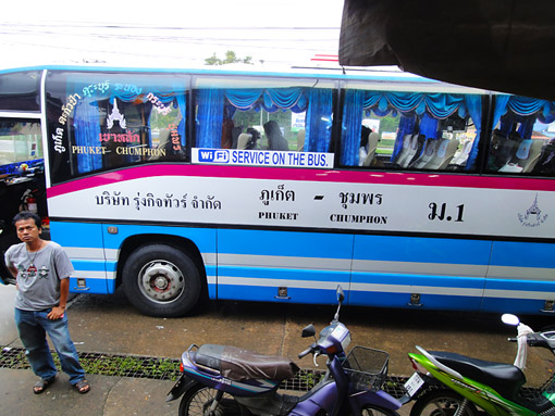 Travel from Thailand to Myanmar by bus