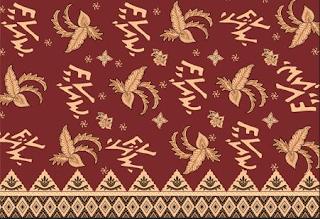 Batik Bengkulu Motif Batik Kaganga