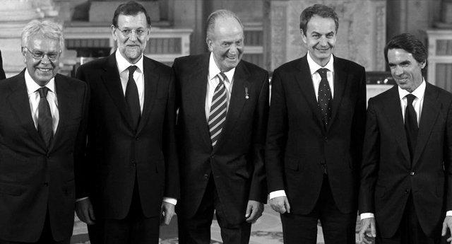 España paga una pensión vitalicia de 75.000 euros a cada ex presidente