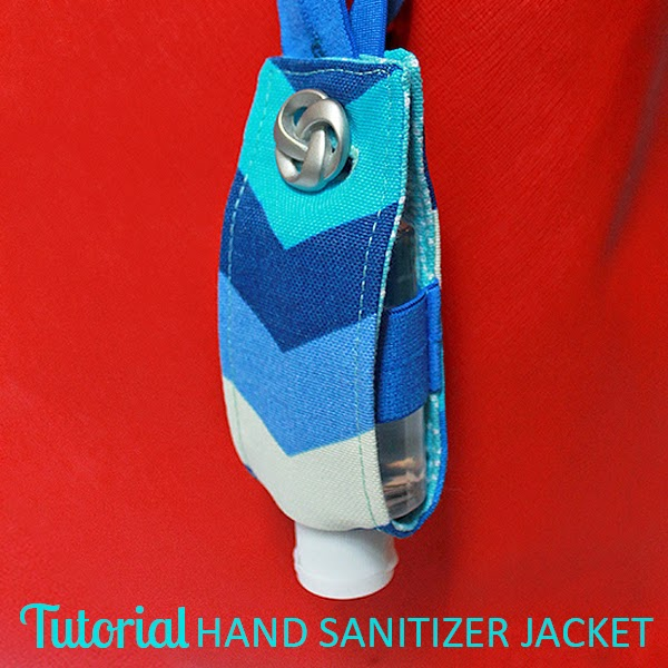 Hand Sanitizer Jacket Tutorial | The Inspired Wren