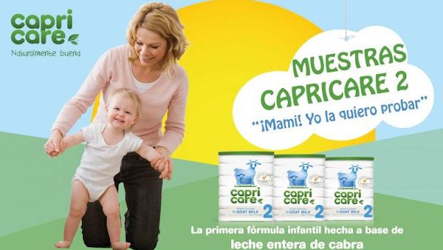 muestras gratis leche capricare