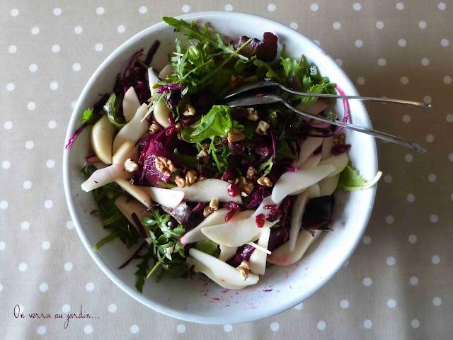 On verra au jardin salade d 39 hiver - Salade d hiver variete ...