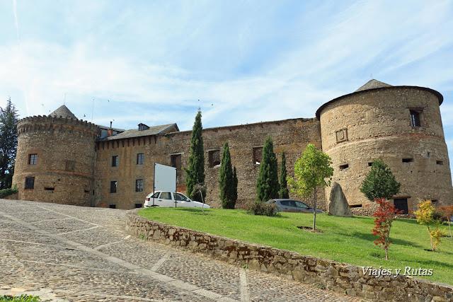 Castillo de Villafranca del Bierzo, León
