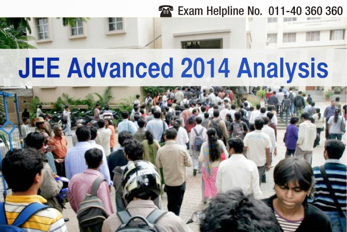 JEE ADVANCED 2014 Paper Analysis