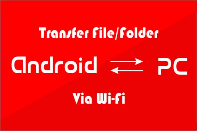 Cara Kirim File/Folder Android Dari/Ke PC Via Wifi