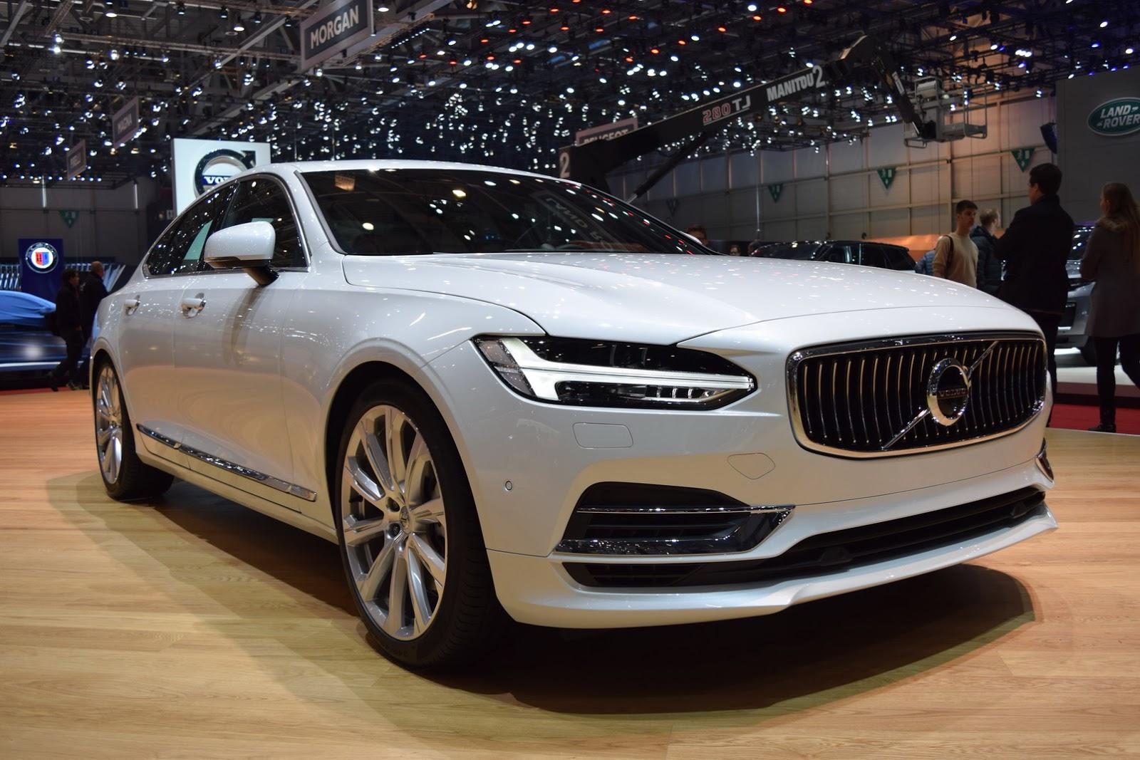 Volvo S90 Sedan 2017 sẽ là đối thủ đáng gờm?