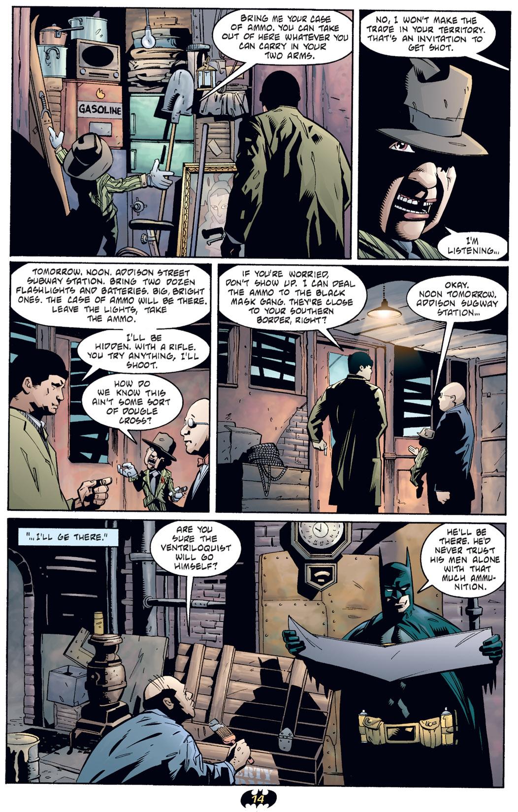 Detective Comics (1937) 730 Page 14