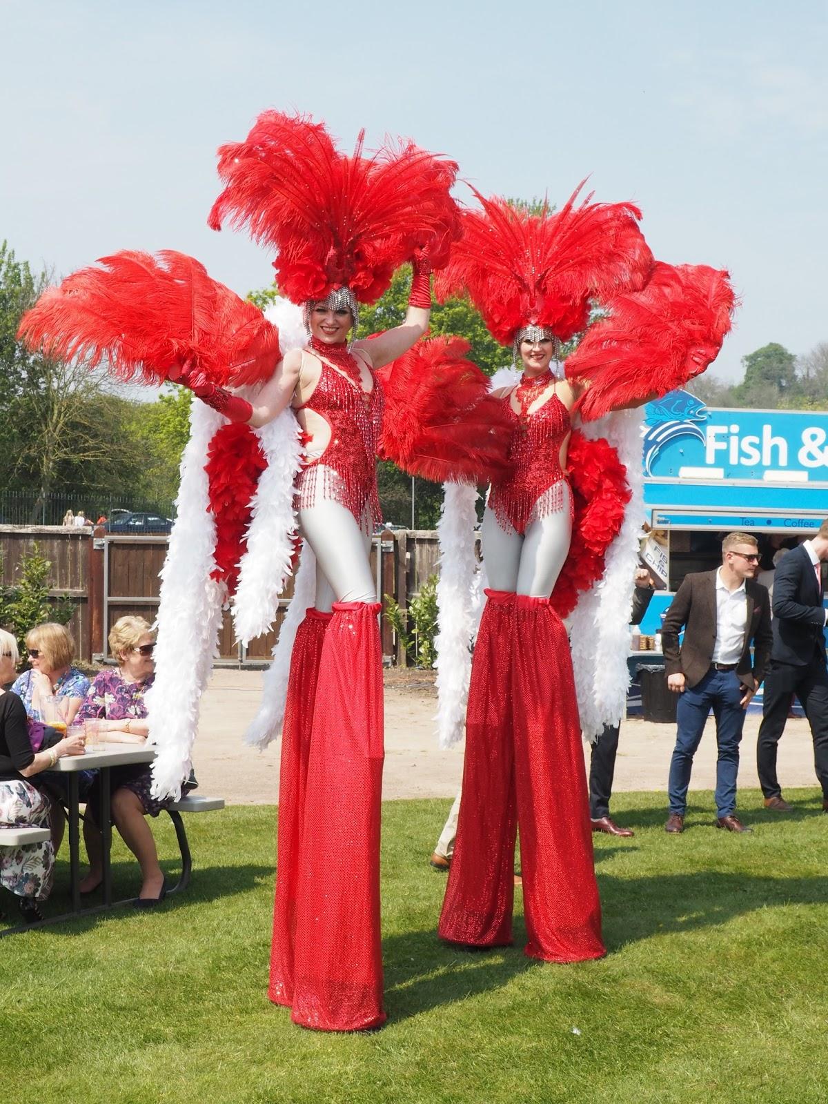 Nottingham racecourse Ladies Day horseracing