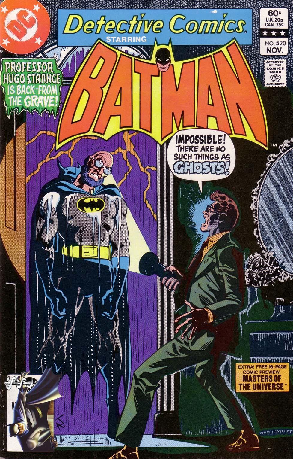 Detective Comics (1937) 520 Page 0