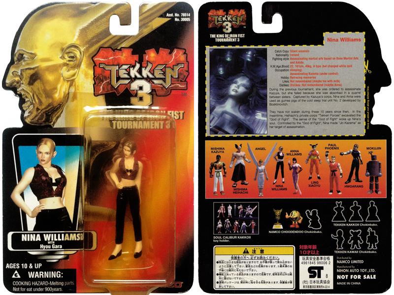 Tekken 3 X Star Wars Nina Williams Red Card Figure Blonde Bomb Tekken S Nina Williams