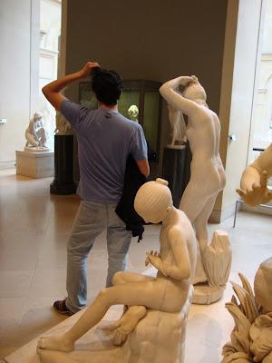 Banho com a nobreza - Louvre - Paris - França