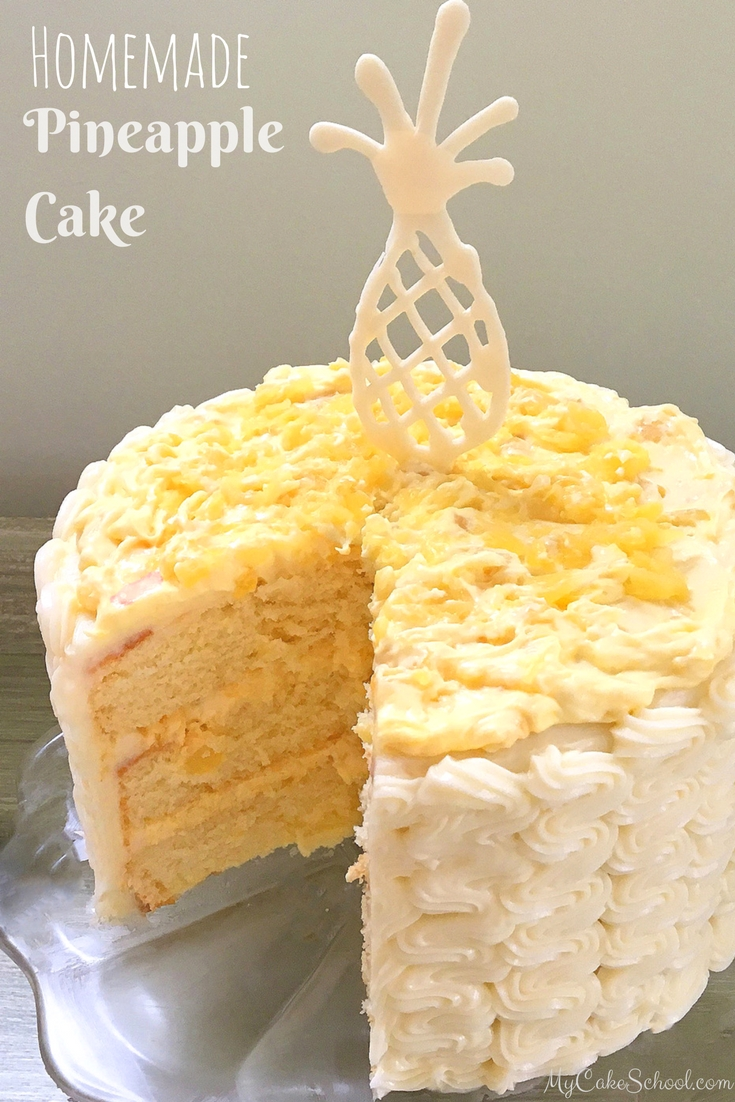 Cake Recipes And Decorating Pineapple Cake Recipe